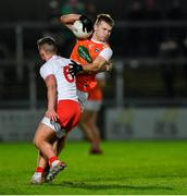 8 January 2020; Rian O'Neill of Armagh in action against Michael McKernan of Tyrone during the Bank of Ireland Dr McKenna Cup Round 3 match between Armagh and Tyrone at Athletic Grounds in Armagh. Photo by Piaras Ó Mídheach/Sportsfile