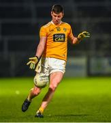 8 January 2020; Eunan Walsh of Antrim during the Bank of Ireland Dr McKenna Cup Round 3 match between Down and Antrim at Páirc Esler in Newry, Down. Photo by Philip Fitzpatrick/Sportsfile