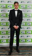 10 January 2020; Sean Gannon of Dundalk FC arrives ahead of the SSE Airtricity / Soccer Writers Association of Ireland Diamond Jubilee Personality of the Year Awards 2019 at the Clayton Hotel in Dublin. Photo by Seb Daly/Sportsfile