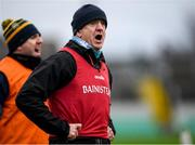 11 January 2020; Offaly manager John Maughan during the O'Byrne Cup Semi-Final match between Offaly and Westmeath at Bord na Móna O'Connor Park in Tullamore, Offaly. Photo by Harry Murphy/Sportsfile