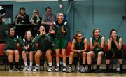 11 January 2020; Portlaoise Panthers players react to a score during the Hula Hoops Women's Division One National Cup Semi-Final match between Team Tom McCarthy's St Mary's and Portlaoise Panthers at Parochial Hall in Cork. Photo by Sam Barnes/Sportsfile