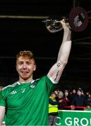 11 January 2020; Limerick captain Cian Lynch lifts the cup after the Co-Op Superstores Munster Hurling League Final match between Limerick and Cork at LIT Gaelic Grounds in Limerick. Photo by Piaras Ó Mídheach/Sportsfile
