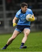 11 January 2020; Emmett ó Conghaile of Dublin during the O'Byrne Cup Semi-Final match between Longford and Dublin at Glennon Brothers Pearse Park in Longford. Photo by Ray McManus/Sportsfile