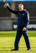 12 January 2020; Dublin manager Mattie Kenny during the Walsh Cup Semi-Final match between Dublin and Galway at Parnell Park in Dublin. Photo by Harry Murphy/Sportsfile