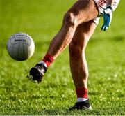 12 January 2020; Tom Parsons of Mayo warms-up before the FBD League Semi-Final match between Mayo and Galway at Elverys MacHale Park in Castlebar, Mayo. Photo by Piaras Ó Mídheach/Sportsfile