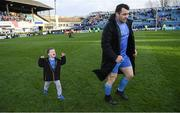12 January 2020; Cian Healy of Leinster and Luca Sexton following the Heineken Champions Cup Pool 1 Round 5 match between Leinster and Lyon at the RDS Arena in Dublin. Photo by Ramsey Cardy/Sportsfile