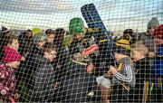 12 January 2020; Kilkenny goalkeeper Eoin Murphy signs autographs for children after the Walsh Cup Semi-Final match between Kilkenny and Wexford at John Lockes GAA Club, John Locke Park in Callan, Kilkenny. Photo by Ray McManus/Sportsfile