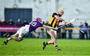 12 January 2020; Billy Ryan of Kilkenny in action against Michael Furlong of Wexford during the Walsh Cup Semi-Final match between Kilkenny and Wexford at John Lockes GAA Club, John Locke Park in Callan, Kilkenny. Photo by Ray McManus/Sportsfile