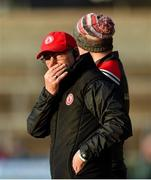 12 January 2020; Tyrone Manager Mickey Harte during the Bank of Ireland Dr McKenna Cup Semi-Final match between Tyrone and Down at the Athletic Grounds in Armagh. Photo by Oliver McVeigh/Sportsfile