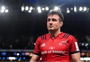 12 January 2020; Niall Scannell of Munster following his side's defeat during the Heineken Champions Cup Pool 4 Round 5 match between Racing 92 and Munster at Paris La Defence Arena in Paris, France. Photo by Seb Daly/Sportsfile