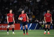 12 January 2020; Munster players, from left, Mike Haley, JJ Hanrahan and Conor Murray during the Heineken Champions Cup Pool 4 Round 5 match between Racing 92 and Munster at Paris La Defence Arena in Paris, France. Photo by Seb Daly/Sportsfile