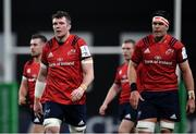 12 January 2020; Peter O'Mahony, left, and Billy Holland of Munster during the Heineken Champions Cup Pool 4 Round 5 match between Racing 92 and Munster at Paris La Defence Arena in Paris, France. Photo by Seb Daly/Sportsfile