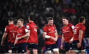 12 January 2020; Peter O'Mahony of Munster, centre, with team-mates, during the Heineken Champions Cup Pool 4 Round 5 match between Racing 92 and Munster at Paris La Defence Arena in Paris, France. Photo by Seb Daly/Sportsfile