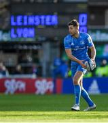 12 January 2020; Ross Byrne of Leinster during the Heineken Champions Cup Pool 1 Round 5 match between Leinster and Lyon at the RDS Arena in Dublin. Photo by Ramsey Cardy/Sportsfile