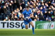 12 January 2020; Garry Ringrose of Leinster during the Heineken Champions Cup Pool 1 Round 5 match between Leinster and Lyon at the RDS Arena in Dublin. Photo by David Fitzgerald/Sportsfile