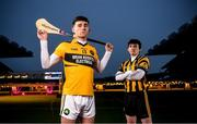 14 January 2020; Russell Rovers and former Cork Hurler Brian Hartnett, right, and Conahy Shamrocks hurler James Bergin are pictured ahead of their AIB GAA All-Ireland Junior Club Hurling Championship Final which takes place on Saturday January 18th at Croke Park. AIB is in its 29th year sponsoring the GAA Club Championship and is delighted to continue to support the Junior, Intermediate and Senior Championships across football, hurling and camogie. For exclusive content and behind the scenes action throughout the AIB GAA & Camogie Club Championships follow AIB GAA on Facebook, Twitter, Instagram and Snapchat. Photo by David Fitzgerald/Sportsfile