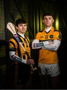 14 January 2020; Russell Rovers and former Cork Hurler Brian Hartnett is pictured alongside Conahy Shamrocks Hurler James Bergin ahead of the AIB GAA All-Ireland Junior Club Hurling Championship Final on Saturday January 18th at Croke Park. AIB is in its 29th year sponsoring the GAA Club Championship and is delighted to continue to support the Junior, Intermediate and Senior Championships across football, hurling and camogie. For exclusive content and behind the scenes action throughout the AIB GAA & Camogie Club Championships follow AIB GAA on Facebook, Twitter, Instagram and Snapchat. Photo by Ramsey Cardy/Sportsfile