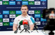 14 January 2020; Keith Earls during a Munster Rugby press conference at University of Limerick in Limerick. Photo by Matt Browne/Sportsfile