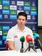 14 January 2020; Billy Holland during a Munster Rugby press conference at University of Limerick in Limerick. Photo by Matt Browne/Sportsfile