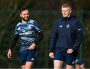 14 January 2020; Tommy O'Brien, right, and Jamison Gibson-Park during a Leinster Rugby squad training session at Leinster Rugby Headquarters in UCD, Dublin. Photo by Harry Murphy/Sportsfile