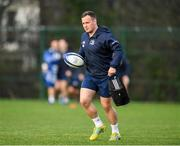 14 January 2020; Bryan Byrne during a Leinster Rugby squad training session at Leinster Rugby Headquarters in UCD, Dublin. Photo by Harry Murphy/Sportsfile