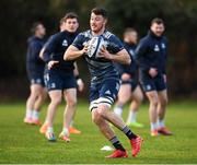 14 January 2020; Will Connors during a Leinster Rugby squad training session at Leinster Rugby Headquarters in UCD, Dublin. Photo by Harry Murphy/Sportsfile