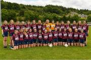 22 June 2019; The Westmeath squad before the Ladies Football All-Ireland U14 Bronze Final 2019 match between Derry and Westmeath at St Aidan's GAA Club in Templeport, Cavan. Photo by Ray McManus/Sportsfile