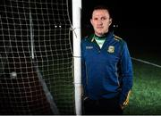 16 January 2020; Meath manager Andy McEntee poses for a portrait during the Meath GAA National League Media Night at Dunganny in Trim, Co. Meath. Photo by David Fitzgerald/Sportsfile
