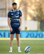 17 January 2020; Ross Byrne during the Leinster Rugby captain's run at Stadio Comunale di Monigo in Treviso, Italy. Photo by Ramsey Cardy/Sportsfile