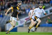 18 January 2020; Tom Phelan of Conahy Shamrocks gets past Kevin Tattan of Russell Rovers during the AIB GAA Hurling All-Ireland Junior Club Championship Final between Russell Rovers and Conahy Shamrocks at Croke Park in Dublin. Photo by Piaras Ó Mídheach/Sportsfile