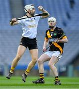 18 January 2020; Daniel Moynihan of Russell Rovers in action against Donal Brennan of Conahy Shamrocks during the AIB GAA Hurling All-Ireland Junior Club Championship Final between Russell Rovers and Conahy Shamrocks at Croke Park in Dublin. Photo by Piaras Ó Mídheach/Sportsfile