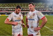 18 January 2020; Sean Reidy and Marcell Coetzee of Ulster after the Heineken Champions Cup Pool 3 Round 6 match between Ulster and Bath at Kingspan Stadium in Belfast. Photo by Oliver McVeigh/Sportsfile