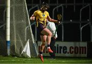 18 January 2020; Conor McDonald of Wexford celebrates after scoring a late goal during the Walsh Cup Final between Wexford and Galway at MW Hire O'Moore Park in Portlaoise, Laois. Photo by Diarmuid Greene/Sportsfile