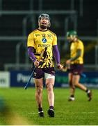 18 January 2020; Michael Furlong of Wexford celebrates at the final whistle after the Walsh Cup Final between Wexford and Galway at MW Hire O'Moore Park in Portlaoise, Laois. Photo by Diarmuid Greene/Sportsfile