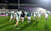 18 January 2020; Tullaroan players celebrate in front of Hill 16 after the AIB GAA Hurling All-Ireland Intermediate Club Championship Final between Fr. O'Neill's and Tullaroan at Croke Park in Dublin. Photo by Piaras Ó Mídheach/Sportsfile