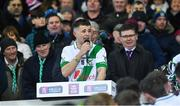 18 January 2020; Tullaroan captain Shane Walsh during his acceptance speech after the AIB GAA Hurling All-Ireland Intermediate Club Championship Final between Fr. O'Neill's and Tullaroan at Croke Park in Dublin. Photo by Piaras Ó Mídheach/Sportsfile