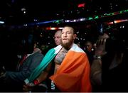 18 January 2020; Conor McGregor prior to his UFC 246 Welterweight bout with Donald Cerrone at the T-Mobile Arena in Las Vegas, Nevada, USA. Photo by Mark J. Rebilas / USA TODAY Sports via Sportsfile