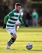 18 January 2020; Jack Byrne of Shamrock Rovers during the Pre-Season Friendly between Shamrock Rovers and Bray Wanderers at Roadstone Group Sports Club in Dublin. Photo by Ben McShane/Sportsfile