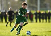 18 January 2020; Kevin Zefi of Republic of Ireland during the International Friendly match between Republic of Ireland U15 and Australia U17 at FAI National Training Centre in Abbotstown, Dublin. Photo by Seb Daly/Sportsfile