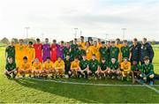 18 January 2020; Republic of Ireland and Australia players following the International Friendly match between Republic of Ireland U15 and Australia U17 at FAI National Training Centre in Abbotstown, Dublin. Photo by Seb Daly/Sportsfile