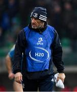 18 January 2020; Leinster scrum coach Robin McBryde during the Heineken Champions Cup Pool 1 Round 6 match between Benetton and Leinster at the Stadio Comunale di Monigo in Treviso, Italy. Photo by Ramsey Cardy/Sportsfile
