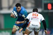 18 January 2020; James Ryan of Leinster in action against Ian Keatley of Benetton during the Heineken Champions Cup Pool 1 Round 6 match between Benetton and Leinster at the Stadio Comunale di Monigo in Treviso, Italy. Photo by Ramsey Cardy/Sportsfile