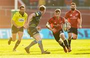 19 January 2020; Craig Casey of Munster in action against Luke Price of Ospreys during the Heineken Champions Cup Pool 4 Round 6 match between Munster and Ospreys at Thomond Park in Limerick. Photo by Diarmuid Greene/Sportsfile