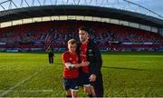 19 January 2020; Craig Casey, left, and Conor Murray of Munster after the Heineken Champions Cup Pool 4 Round 6 match between Munster and Ospreys at Thomond Park in Limerick. Photo by Brendan Moran/Sportsfile