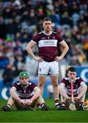 19 January 2020; James Devaney, left, Dan McCormack, centre,  and Tommy Ryan of Borris-Ileigh dejected following the AIB GAA Hurling All-Ireland Senior Club Championship Final between Ballyhale Shamrocks and Borris-Ileigh at Croke Park in Dublin. Photo by Sam Barnes/Sportsfile