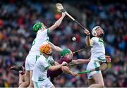 19 January 2020; A general view of the action during the AIB GAA Hurling All-Ireland Senior Club Championship Final between Ballyhale Shamrocks and Borris-Ileigh at Croke Park in Dublin. Photo by Sam Barnes/Sportsfile