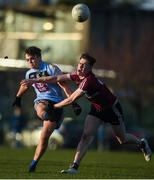 19 January 2020; Luke Fortune of UCD in action against Ryan Coleman of St Mary's during the Sigerson Cup Quarter Final between UCD and St Mary's University College at Belfield in UCD, Dublin. Photo by David Fitzgerald/Sportsfile