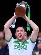 19 January 2020; Ballyhale Shamrocks captain Michael Fennelly lifts the Tommy Moore Cup after the AIB GAA Hurling All-Ireland Senior Club Championship Final between Ballyhale Shamrocks and Borris-Ileigh at Croke Park in Dublin. Photo by Piaras Ó Mídheach/Sportsfile