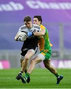 19 January 2020; Ryan McEvoy of Kilcoo in action against Michael Farragher of Corofin during the AIB GAA Football All-Ireland Senior Club Championship Final between Corofin and Kilcoo at Croke Park in Dublin. Photo by Seb Daly/Sportsfile