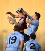 19 January 2020; Owen McCabe of St Mary's in action against Stephen Coen of UCD during the Sigerson Cup Quarter Final between UCD and St Mary's University College at Belfield in UCD, Dublin. Photo by David Fitzgerald/Sportsfile